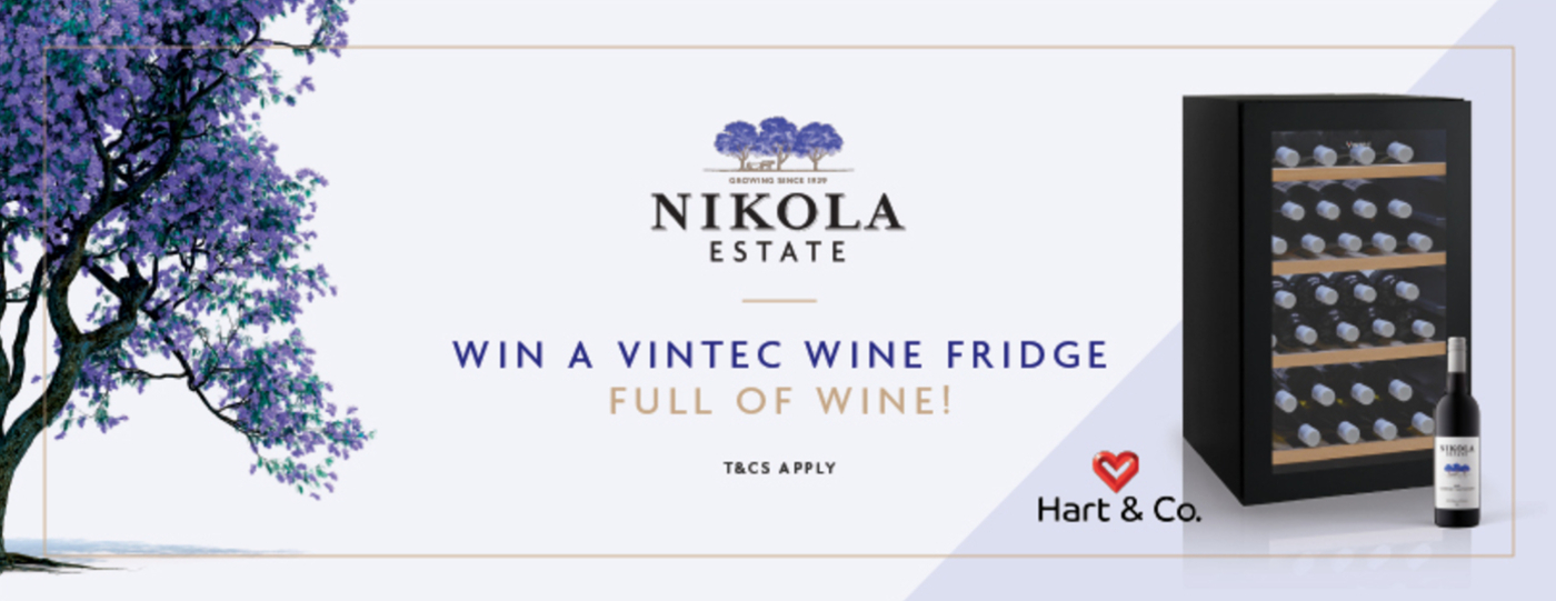 Win a Vintec Wine Fridge Full of our Wine!